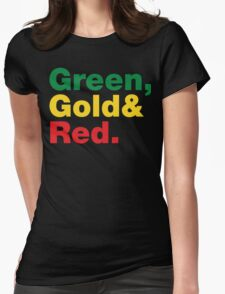 Green, Gold & Red. T-Shirt