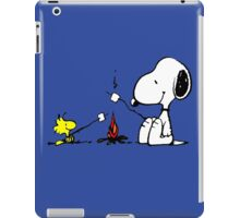 Snoopy and Woodstock Marshmallow iPad Case/Skin