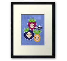 Fruit Crew Framed Print