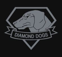 Metal Gear Solid - Diamond Dogs (Gray) by crimzind