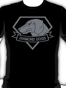 Metal Gear Solid - Diamond Dogs (Gray) T-Shirt