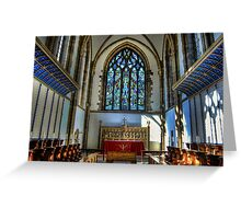Sheffield Cathedral Alternate Altar 2 Greeting Card