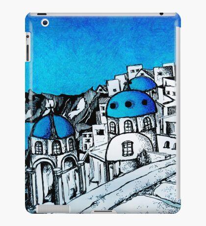 SANTORINI BLUE iPad Case/Skin