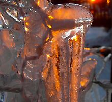 Orange Sunset Ice by Clubohara