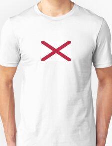 Alabama USA State Flag Sweet Home Bedspread Duvet T-Shirt Sticker T-Shirt