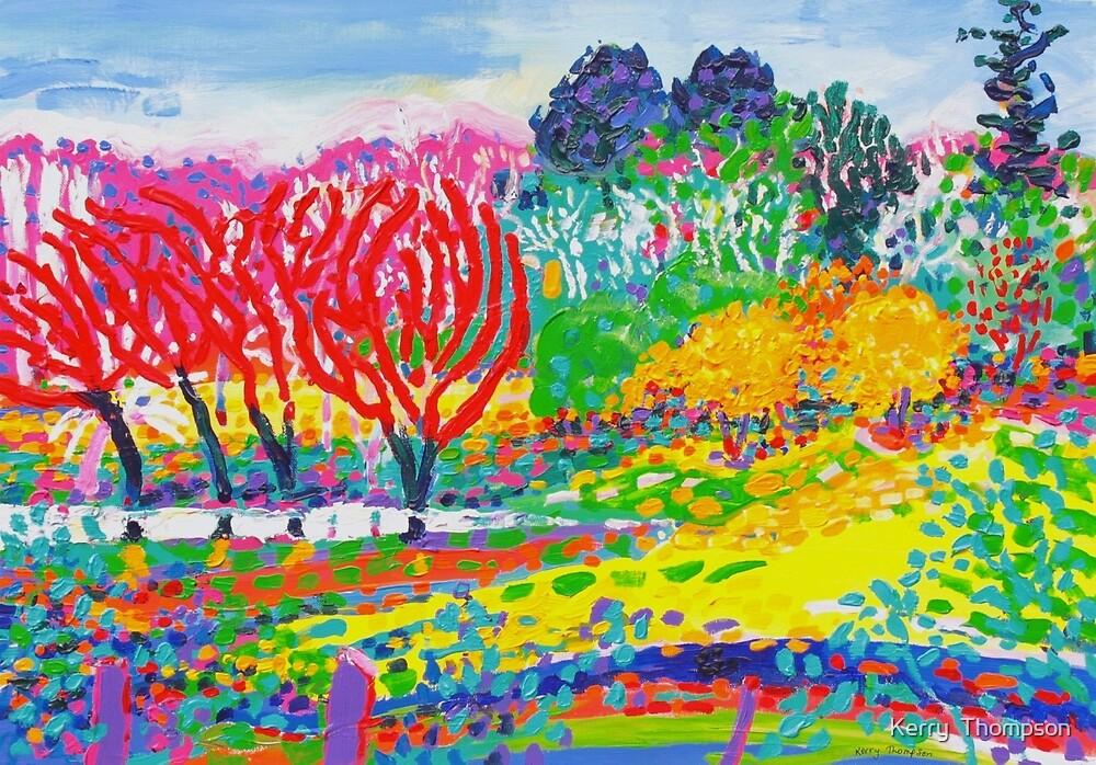 """Bundanon"" dam by Kerry  Thompson"