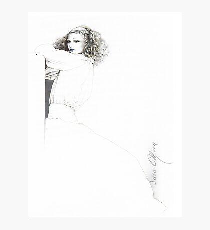 """Rebecca"" Oil on Canvas Photographic Print"