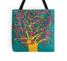 Keith Haring - Colorful tree Tote Bag
