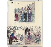 The Little Folks Painting book by George Weatherly and Kate Greenaway 0129 iPad Case/Skin
