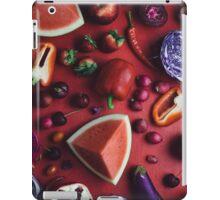 Red and purple food iPad Case/Skin