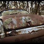 Automotive Graveyard - Moody by Malcolm Heberle