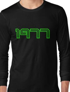 1977 by Chillee Wilson Long Sleeve T-Shirt