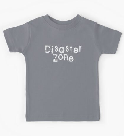 Disaster Zone by Chillee Wilson Kids Tee