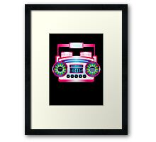 Boom Box by Chillee Wilson Framed Print