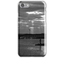 Fishermen on the Barwon River iPhone Case/Skin