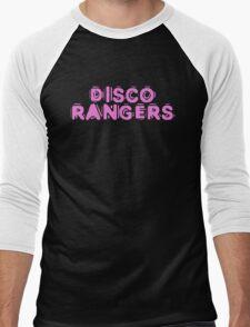 Disco Rangers by Chillee Wilson Men's Baseball ¾ T-Shirt