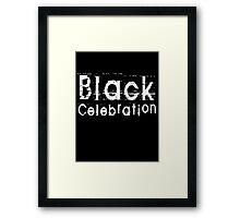 Black Celebration by Chillee Wilson Framed Print