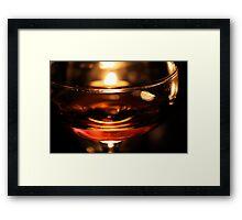 Whiskey Martini Framed Print