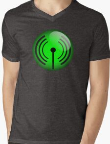 Wi-Fi Icon by Chillee Wilson Mens V-Neck T-Shirt