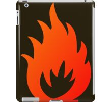 Flame Symbol by Chillee Wilson iPad Case/Skin