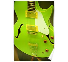 lime green poster board