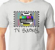TV Sucks! by Chillee Wilson Unisex T-Shirt