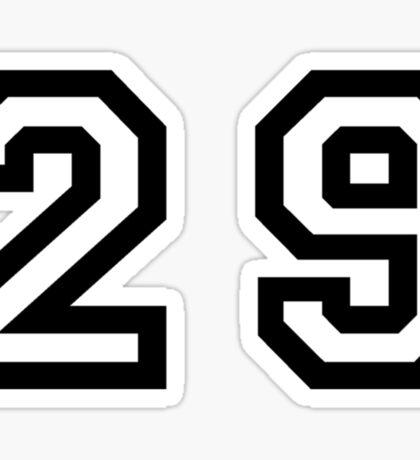 Twenty Nine Sticker