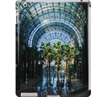 Reflecting on Palm Trees and Arches iPad Case/Skin