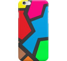 Colored bolt iPhone Case/Skin