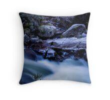 Thredbo river Throw Pillow