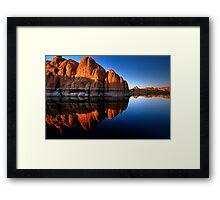 Rock Rock Framed Print