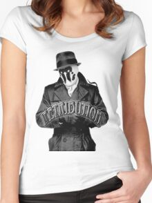 Rorschach VII Women's Fitted Scoop T-Shirt
