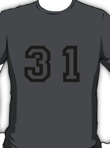 Number Thirty One T-Shirt