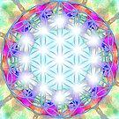 Flower of life mandala - light by Lilaviolet