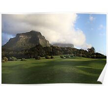 Lord Howe Island Golf Course Poster