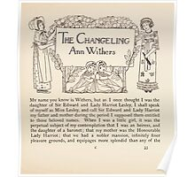 Mrs Leicester's School Charles & Mary Lamb with Minifred Green 18xx 0057 The Changeling Poster
