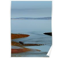Mud Flats at Saints Rest Poster