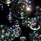 Bubbles at night by Tom Grieve