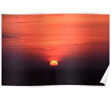Akyaka Sunset Poster
