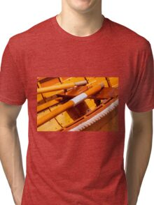 Wood Toned Tri-blend T-Shirt
