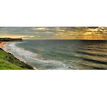 55 Shots at Mona Vale - Mona Vale Beach, Sydney - The HDR Experience Photographic Print