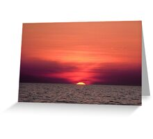 Akyaka - An Astronomical Sunset Greeting Card