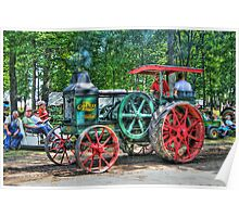 Rumely Oil Pull Tractor Poster