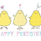 Happy Peepster by Abbi Ptak