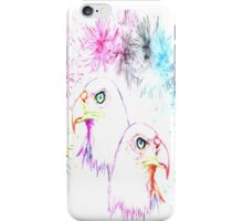 Fantasy - Eagles and Fireworks iPhone Case/Skin