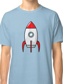 Rocket Ship by Chillee Wilson Classic T-Shirt