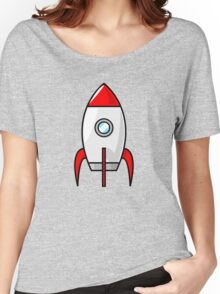 Rocket Ship by Chillee Wilson Women's Relaxed Fit T-Shirt
