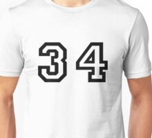 Thirty four Unisex T-Shirt