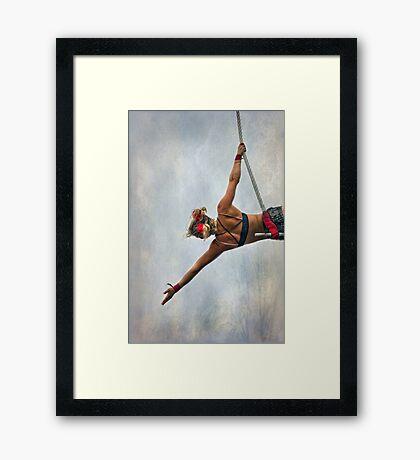 The Showgirl  Framed Print