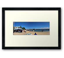 watson bay Framed Print